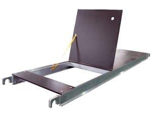 Aluminum Plywood Trapdoor Platform 610mm