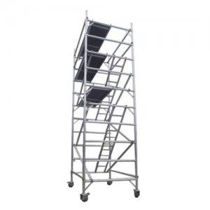 Aluminum tower
