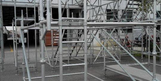 Steel Ladder 369mm with bracket