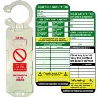 scaffold tag single kit