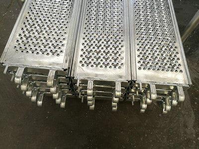steel plank low profile width 320