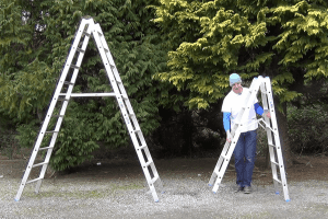 Aluminum Ladder example