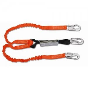 Double Leg Shock Absorbing Stretch Lanyard
