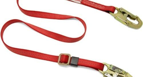 single safety lanyard
