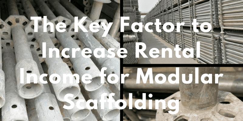 Modular Scaffolding assets